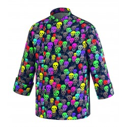 CHAQUETA COLOR SKULLS