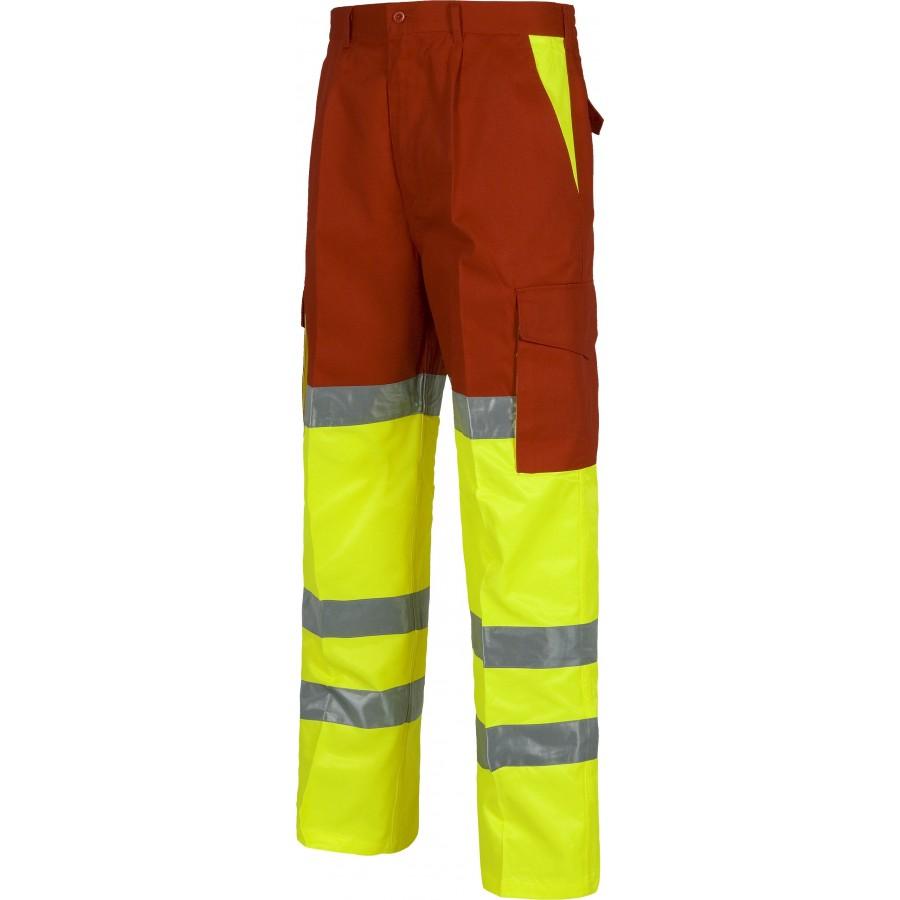 Pantalon Alta Visibilidad Workteam