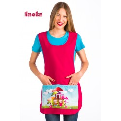 ESTOLA MAESTRA FUCSIA SETAS LACLA